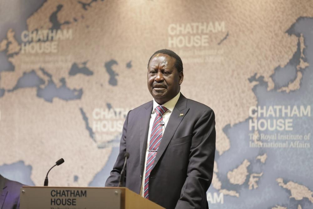 Raila Odinga's joke about corruption in Malaysia did not amuse Malaysian politicians