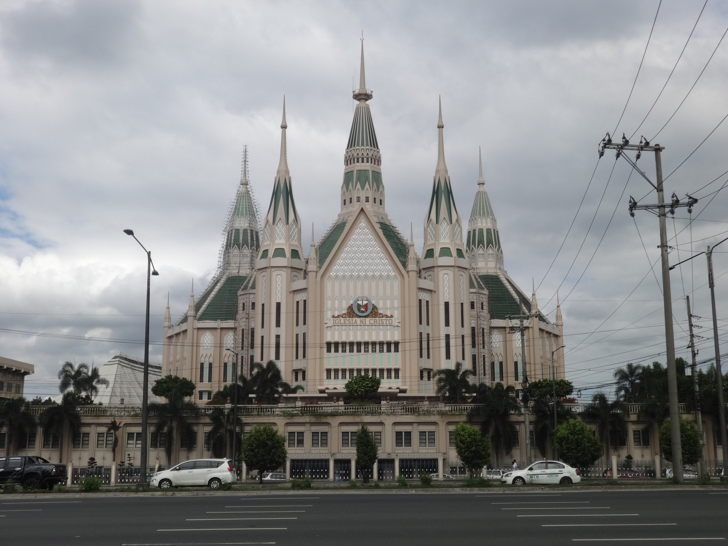 The Iglesia Ni Cristo Central Temple in Quezon City is the largest house of worship in the Philippines    PATRICK ROQUE