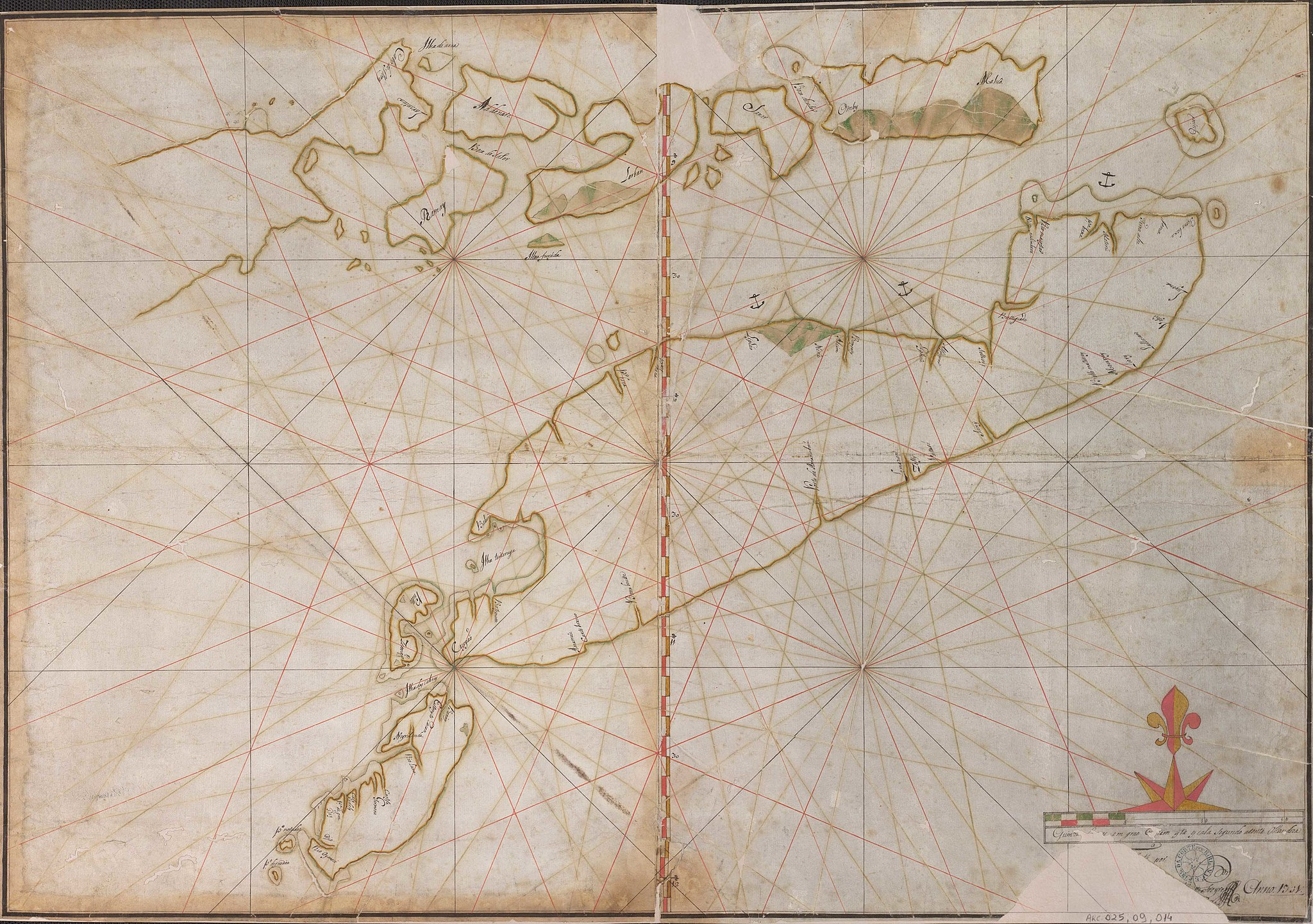 Portuguese map of East Timor from 1731    WIKIMEDIA COMMONS