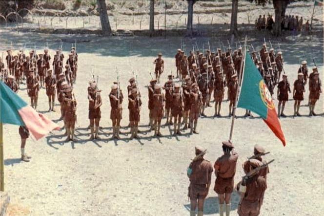 Portuguese troops in East Timor, November 24, 1968    WIKIMEDIA COMMONS