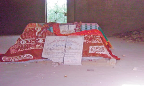 The tomb of Hosh Mohammed Sheedi |  WIKIMEDIA COMMONS