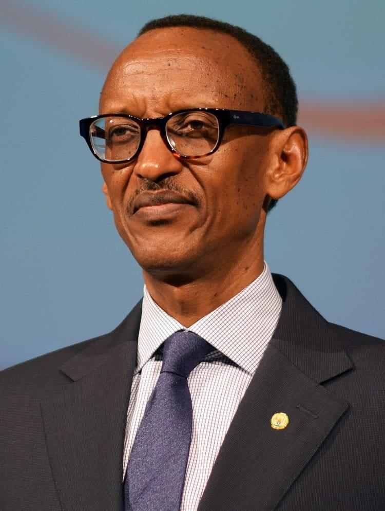 President of Rwanda and head of the Girinka Project, Paul Kagame