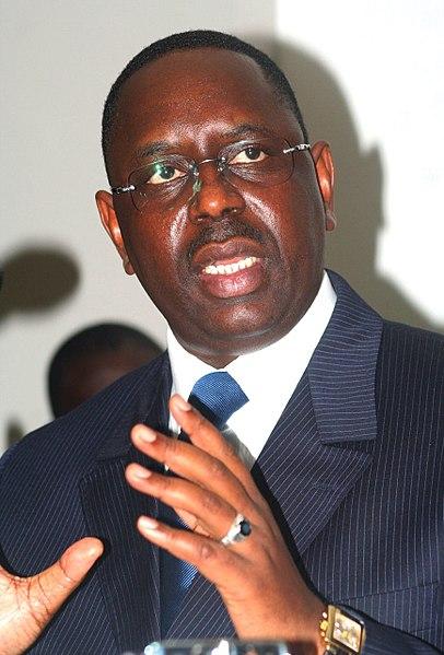 President Macky Sall, leader of Senegal since 2012 |  WIKIMEDIA COMMONS