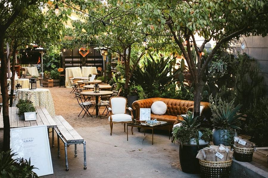 Stable Cafe  - Price Average: $3,750 - $5,000Max Capacity: 40- 60Mood: lush, serene, cosmopolitan Location: San Francisco, CA