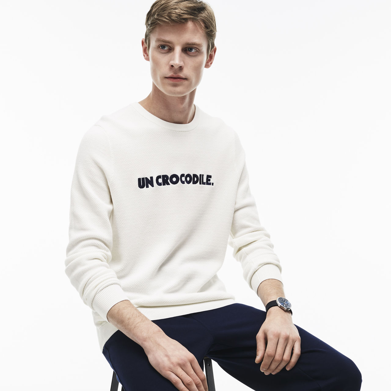 I recently bought this Lacoste sweater; I got a size 9 which Lacoste says is a 4XL.
