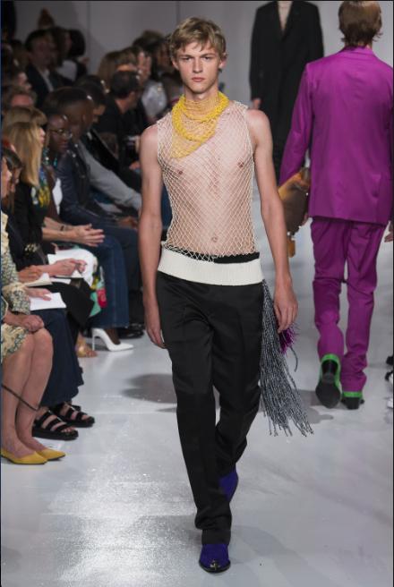 Calvin Klein Spring 2018 from Vogue.com