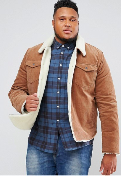 Asos Fleece Lined Cord Jacket: for porn stars - and you.