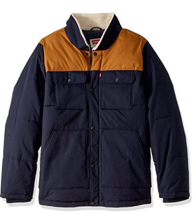 Levis Quilted Sherpa Shirt Jacket: It's a Shirt, it's a Jacket and I want 'em both