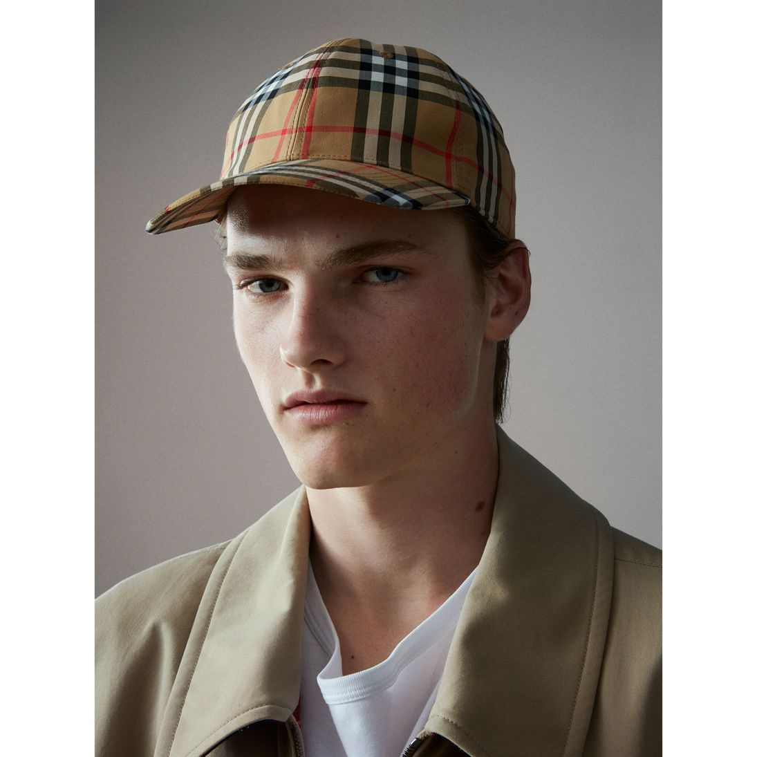 Vintage Check Baseball Cap - Dare me to wear this with the bag and the shoes? I ACCEPT.