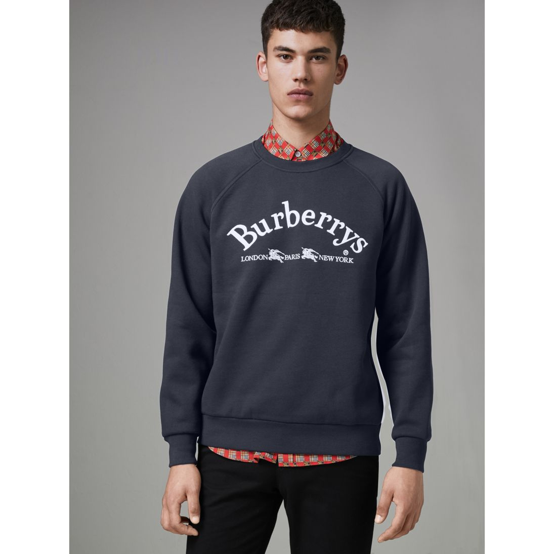 Archive Sweatshirt - This sweatshirt goes up to size XXXL and is, ostensibly, stretchy.  It just might fit (even if, at $450, it doesn't fit my idea of what a sweatshirt should cost).