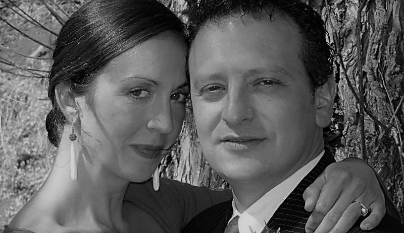 Anna Clare Monlezun and Giovanni Taormina
