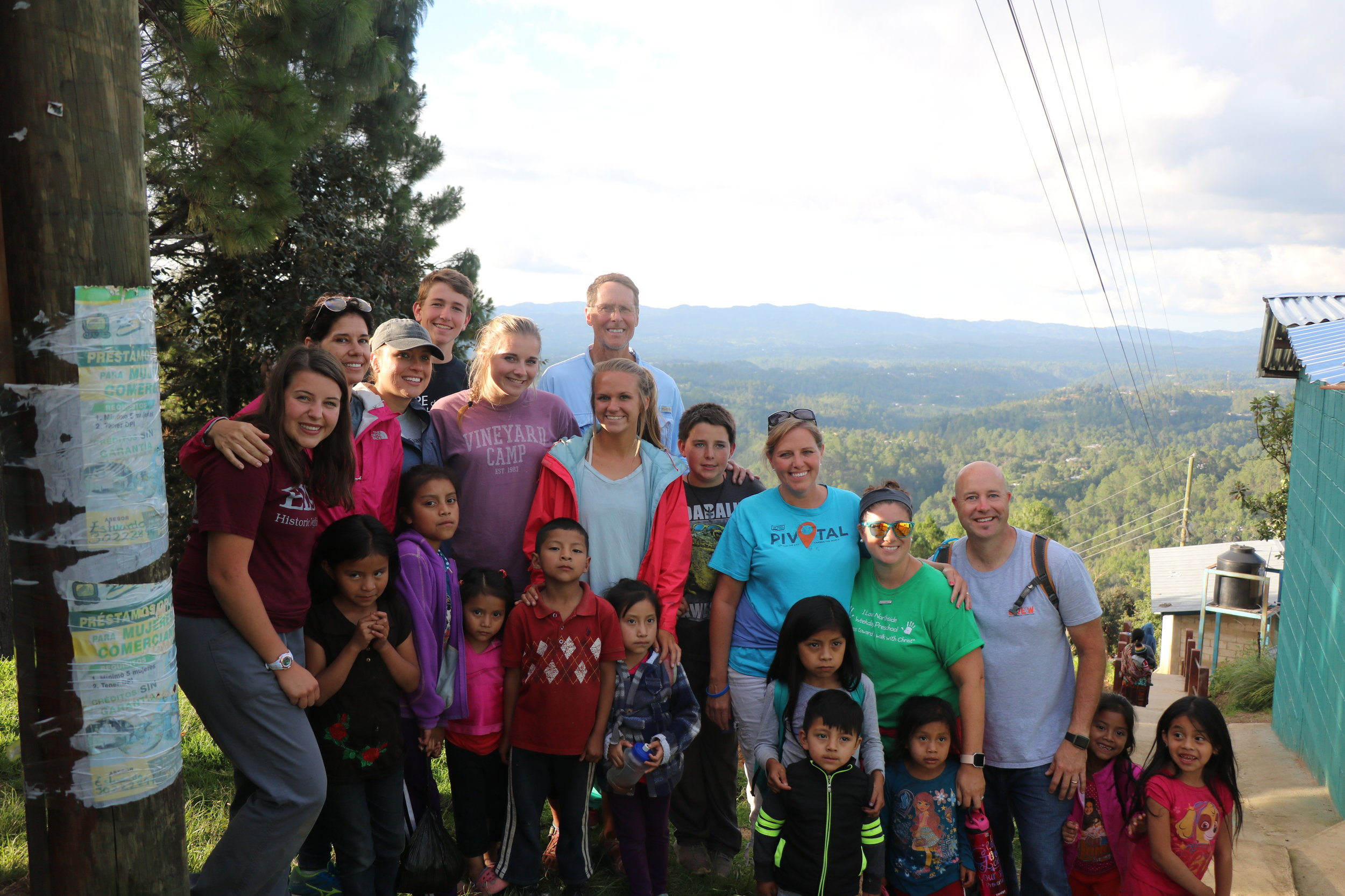 Building a Doorway for the Gospel - Our Leland Campus Pastor, Don Brown, and his family embarked with 6 other PC3 attenders to share the Good News of Jesus in Chichicastenango, Gautemala. His daughter, Maggie, shares the team's story here.