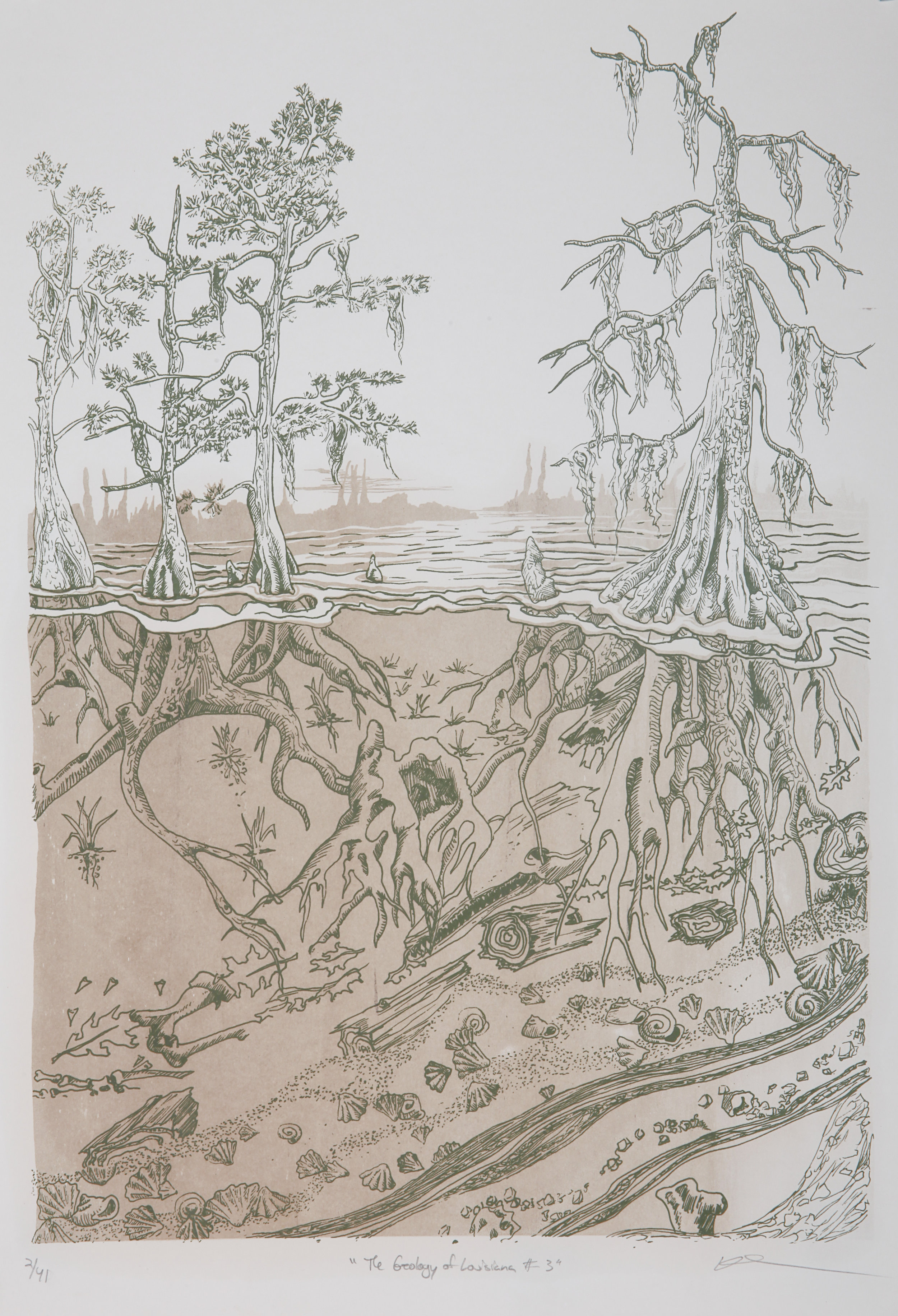 Pippin Fribie-Calder  The Geology of Louisiana #3.jpg