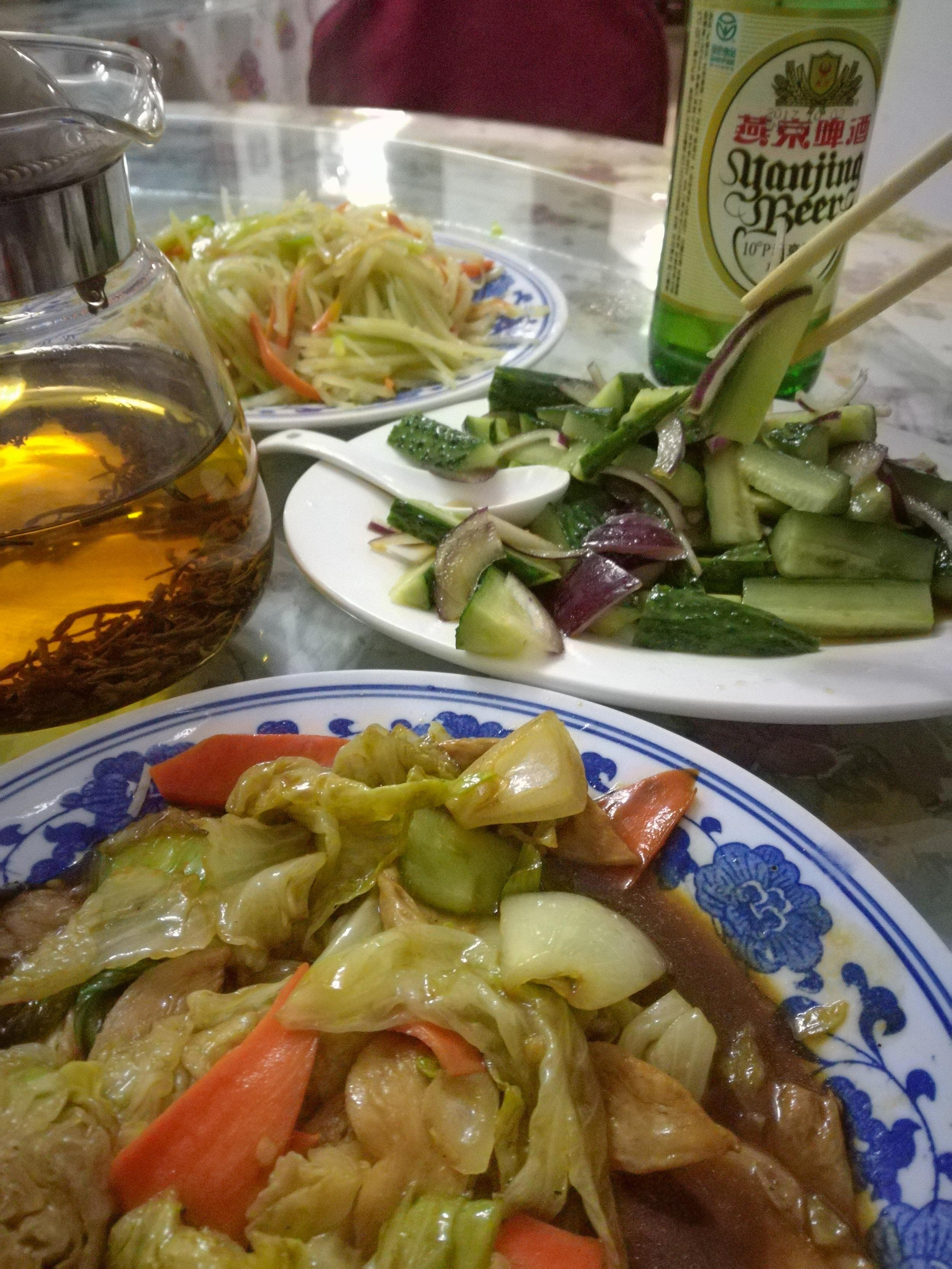 chinese vegetarian food.JPG