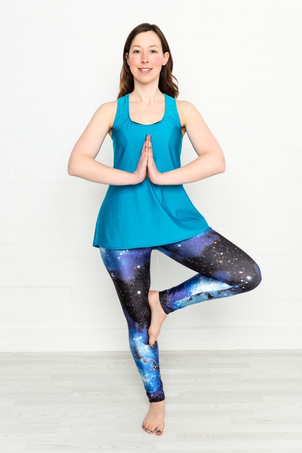 The Action Pack - Get active with layerable leisurewear separates.Perfect for getting out, getting active and doing stuff ... or as super comfy sewing wear!The top has an interesting crossover strap and keyhole detail at the back and is finished with elastic around the neckline and armholes for ultimate flexibility. The leggings feature a shaped waistband yoke which sits neatly just below the natural waistline to provide comfort and security. The side-seam-free style is ideal for floor exercisePDF Pattern £9Paper Pattern £14.50