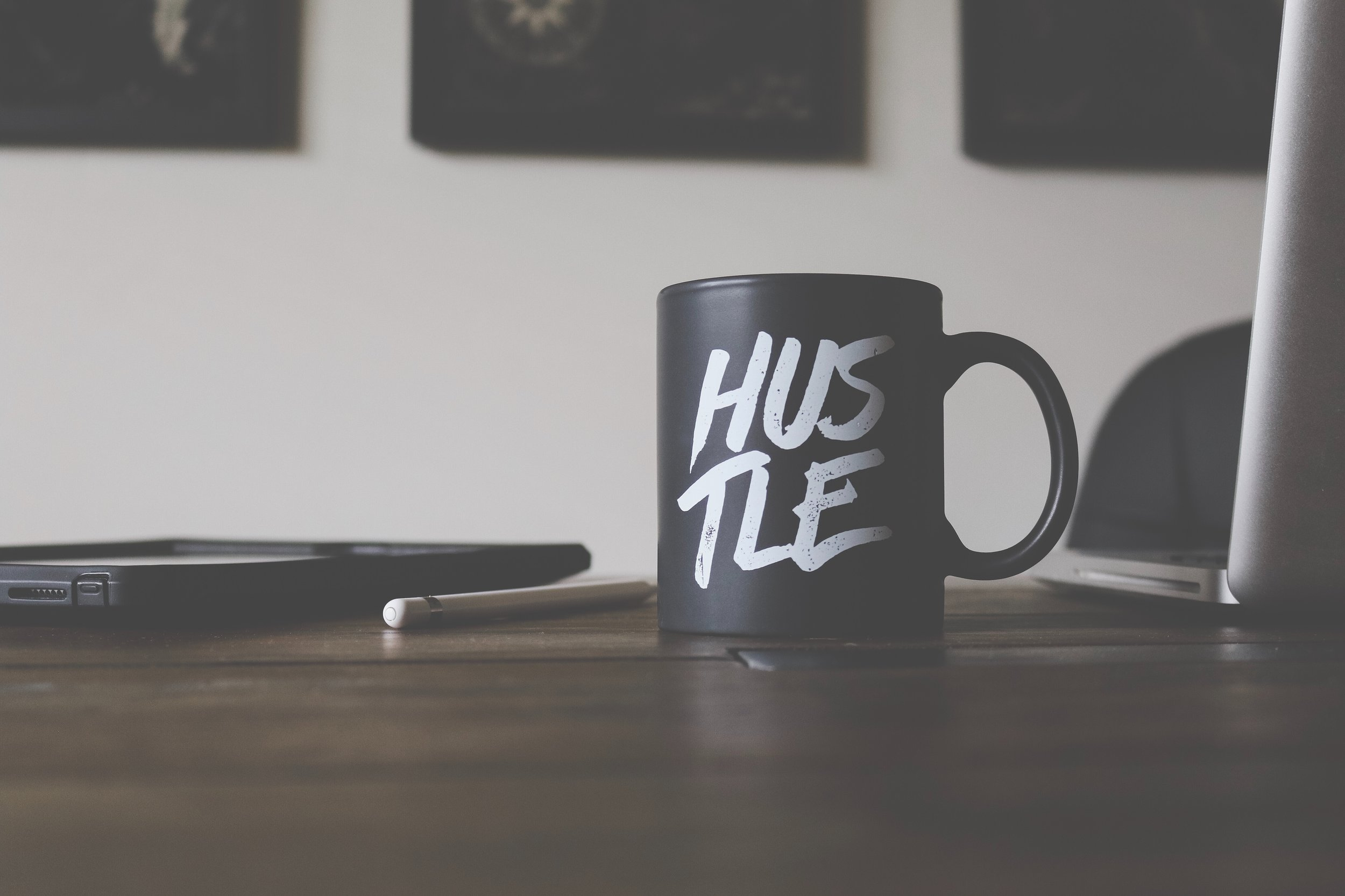 "The ""hustle"" mentality can lead to burnout. Instead, be honest and strategic about the time you put in to your business."