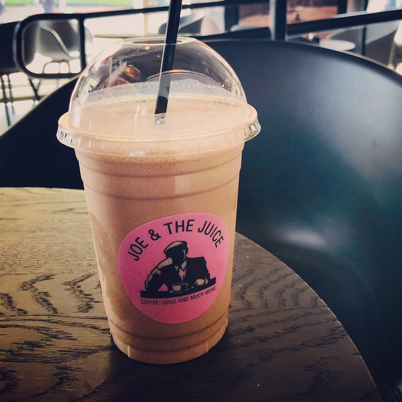 Get away from the hustle and bustle of the convention crowd and relax a little at Joe and the Juice.