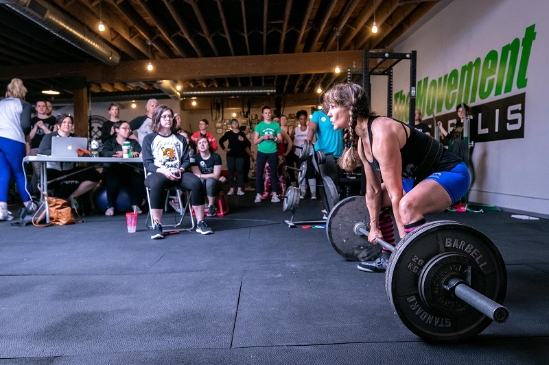 Debbie recently placed first in the Master's Powerlifting Division at Liftoberfest on September 29.