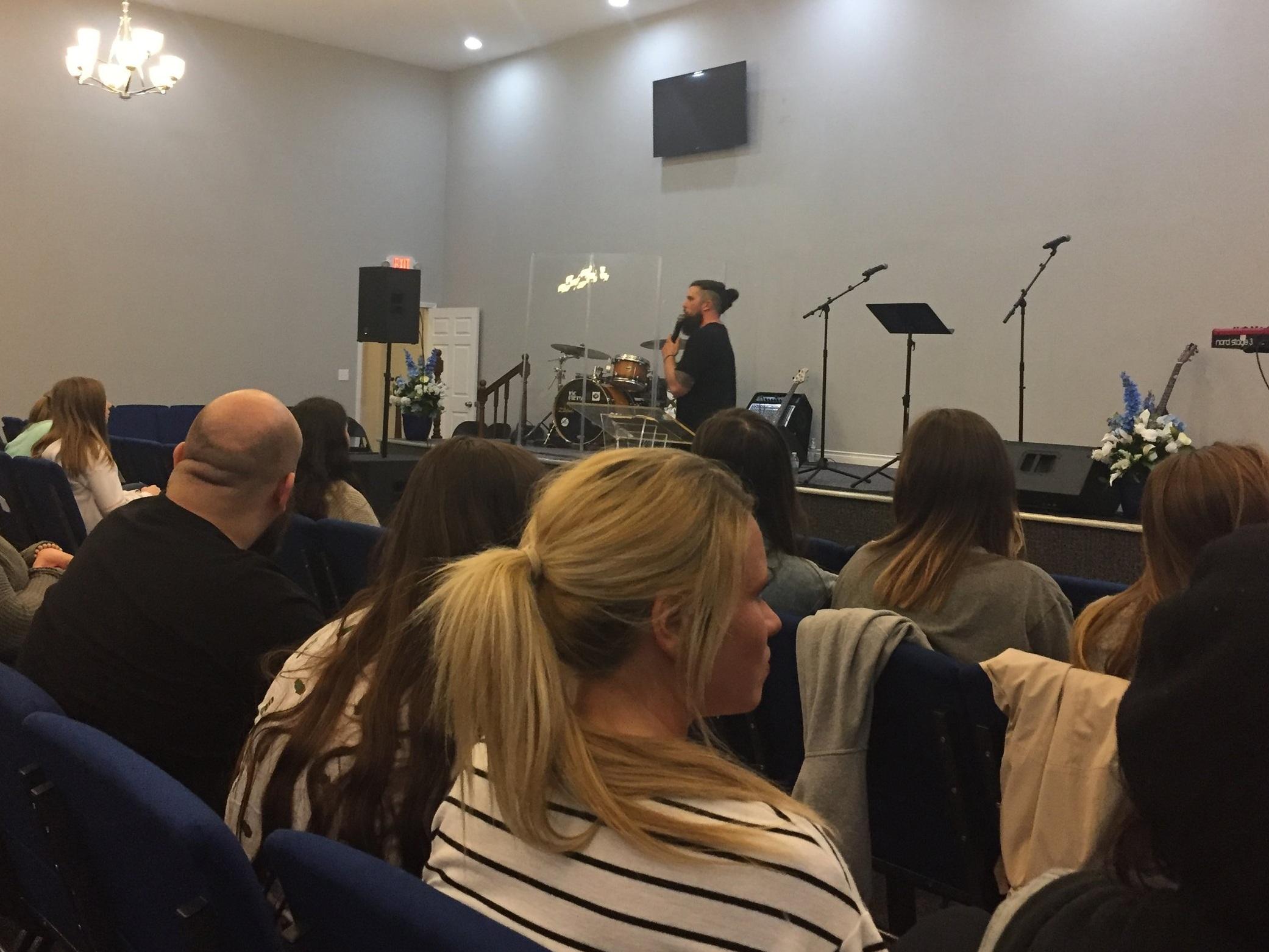 Kurt Wilson  Preaching Friday Evening