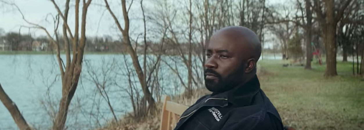 Mike Colter plays Tommy Shine in Breakthrough