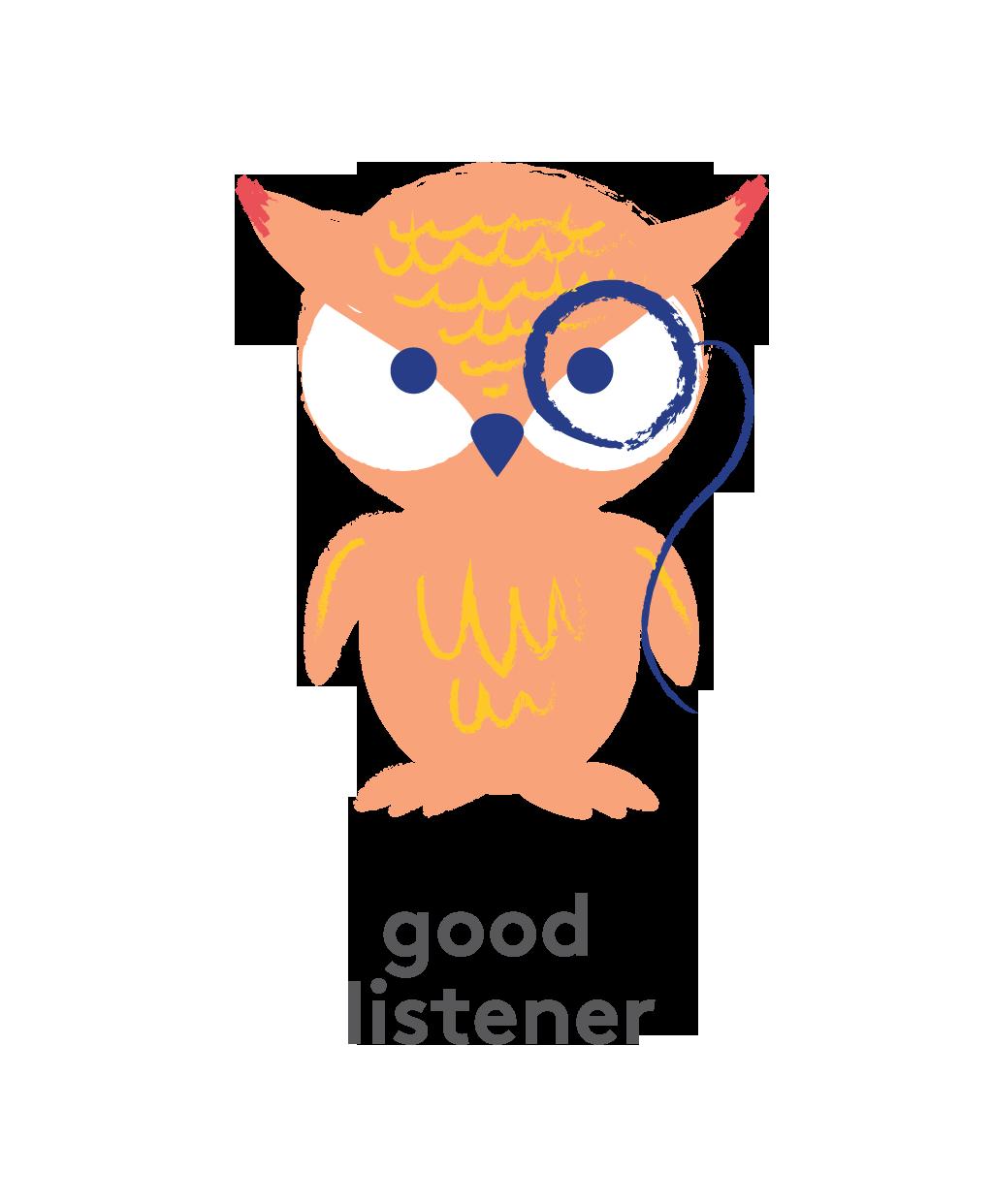 Owl: Good Listener