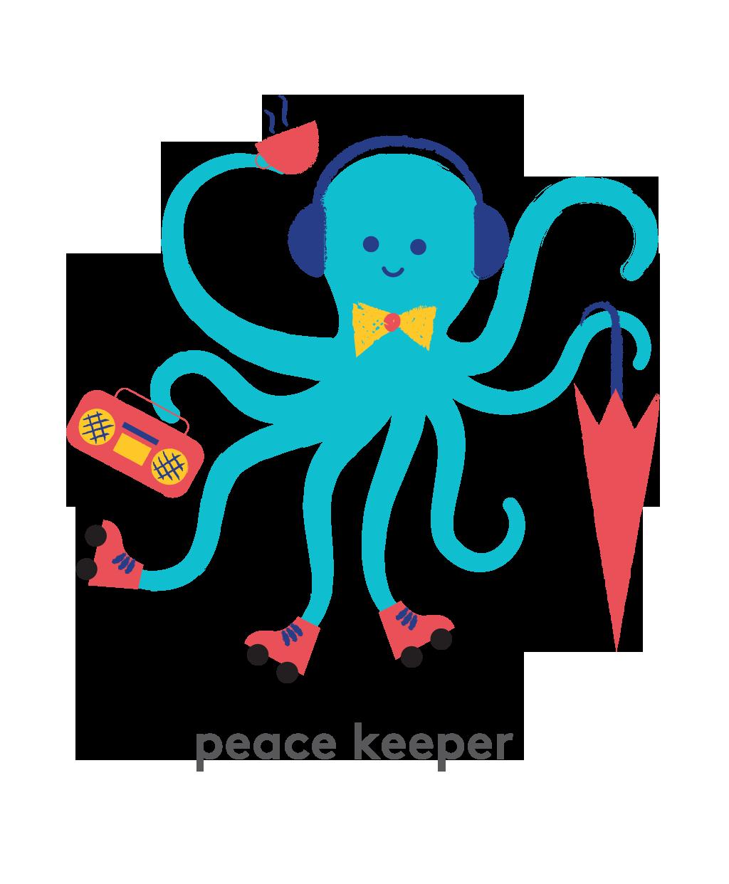 Octopus - Peace Keeper
