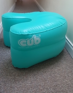What is the CUB? - The CUB (Comfortable Upright Birth) is a comfortable, stable inflatable support tool that helps expectant mothers get into a variety of upright positions during pregnancy and labour. It allows mothers to adjust to the positions which are the most comfortable for them at home and in hospital. Being upright during labour has numerous benefits to both mum and baby!When you rent the CUB kit from Limerick Doula Services, you have full use for five weeks from 37-42 weeks gestation. Depending on location, the CUB will be delivered to you in person or sent via registered post. Your booking will be confirmed once contract and payment have been received.