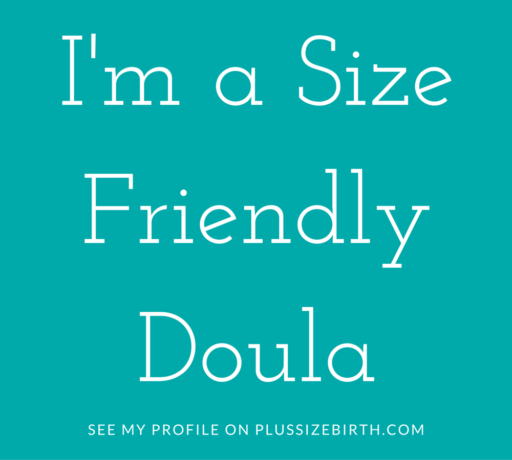 size friendly birth doula limerick