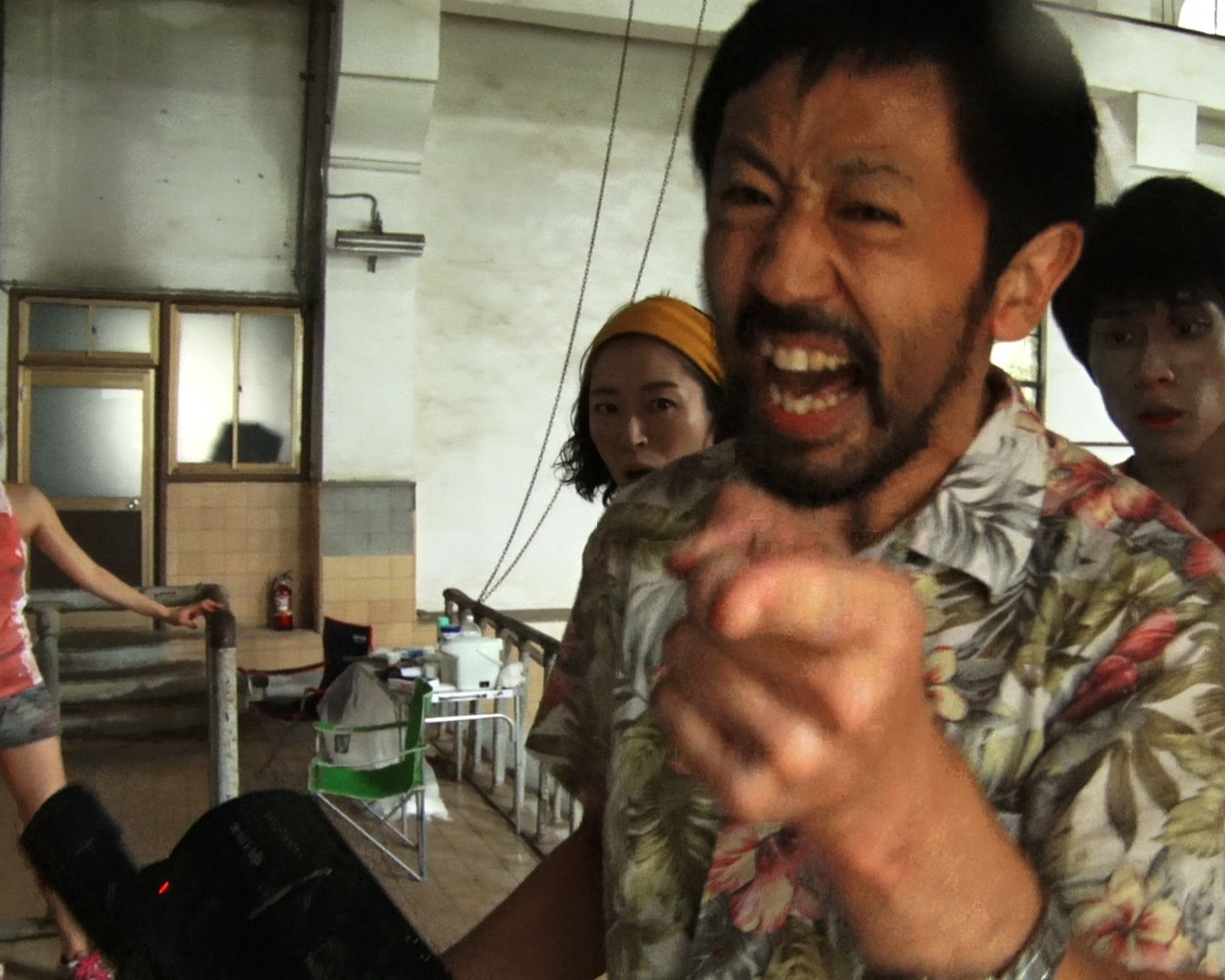 One Cut of the DEad - Things go badly for a hack director and film crew shooting a low budget zombie movie in an abandoned WWII Japanese facility, when they are attacked by real zombies.