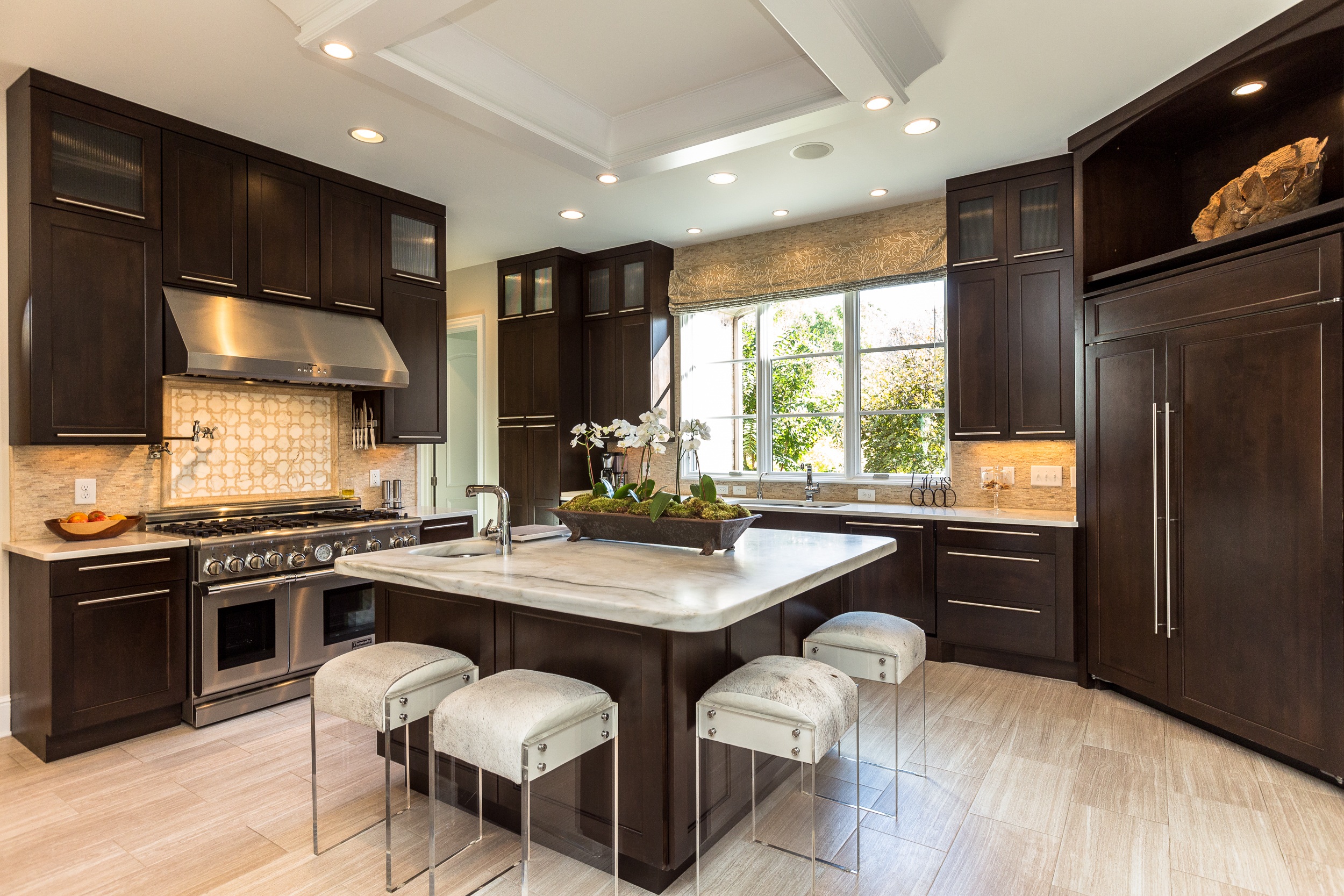 domophotos high standard real estate photography - Franklin, TN custom kitchen