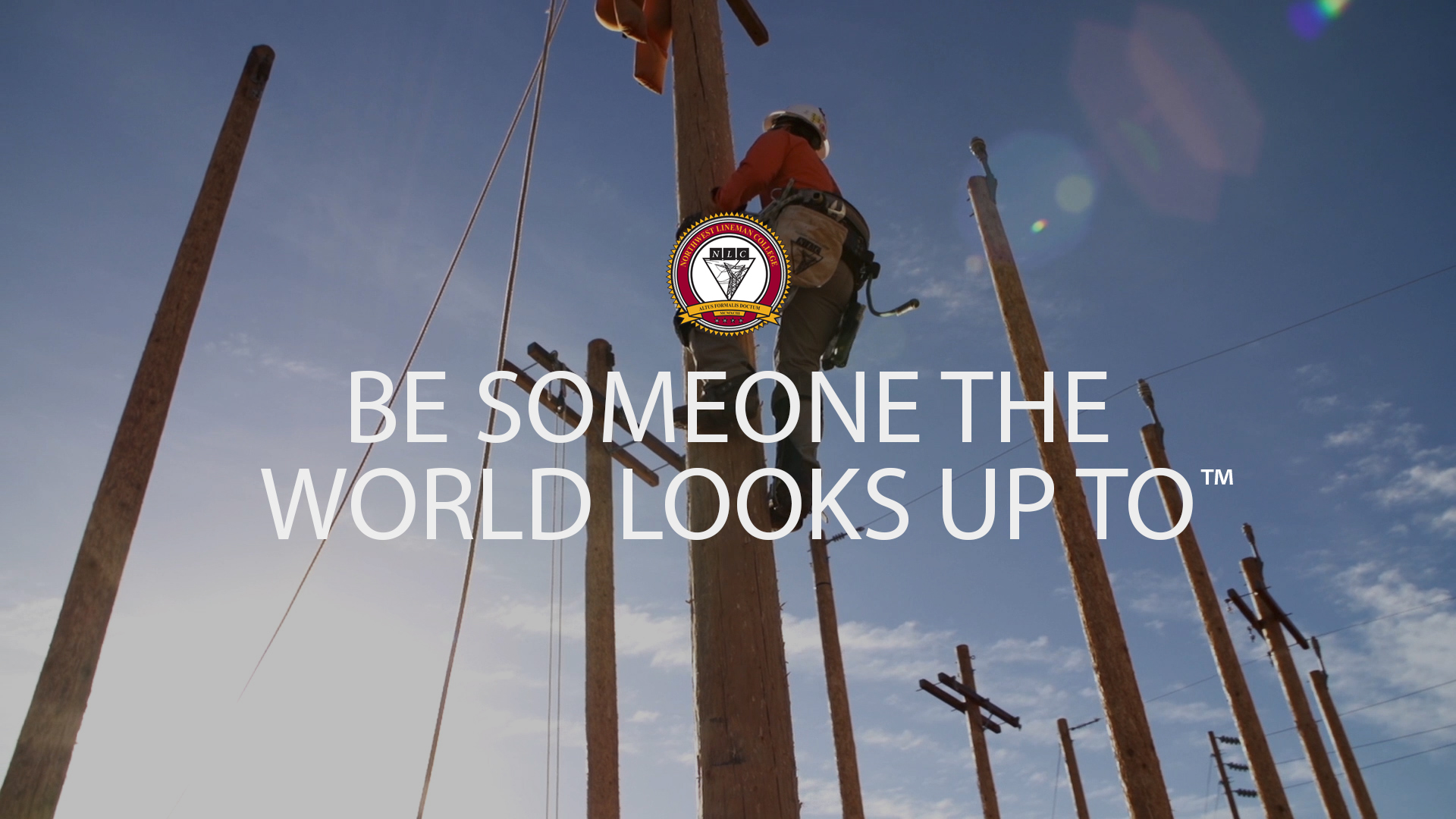 NLC: Be Someone the World Looks Up To