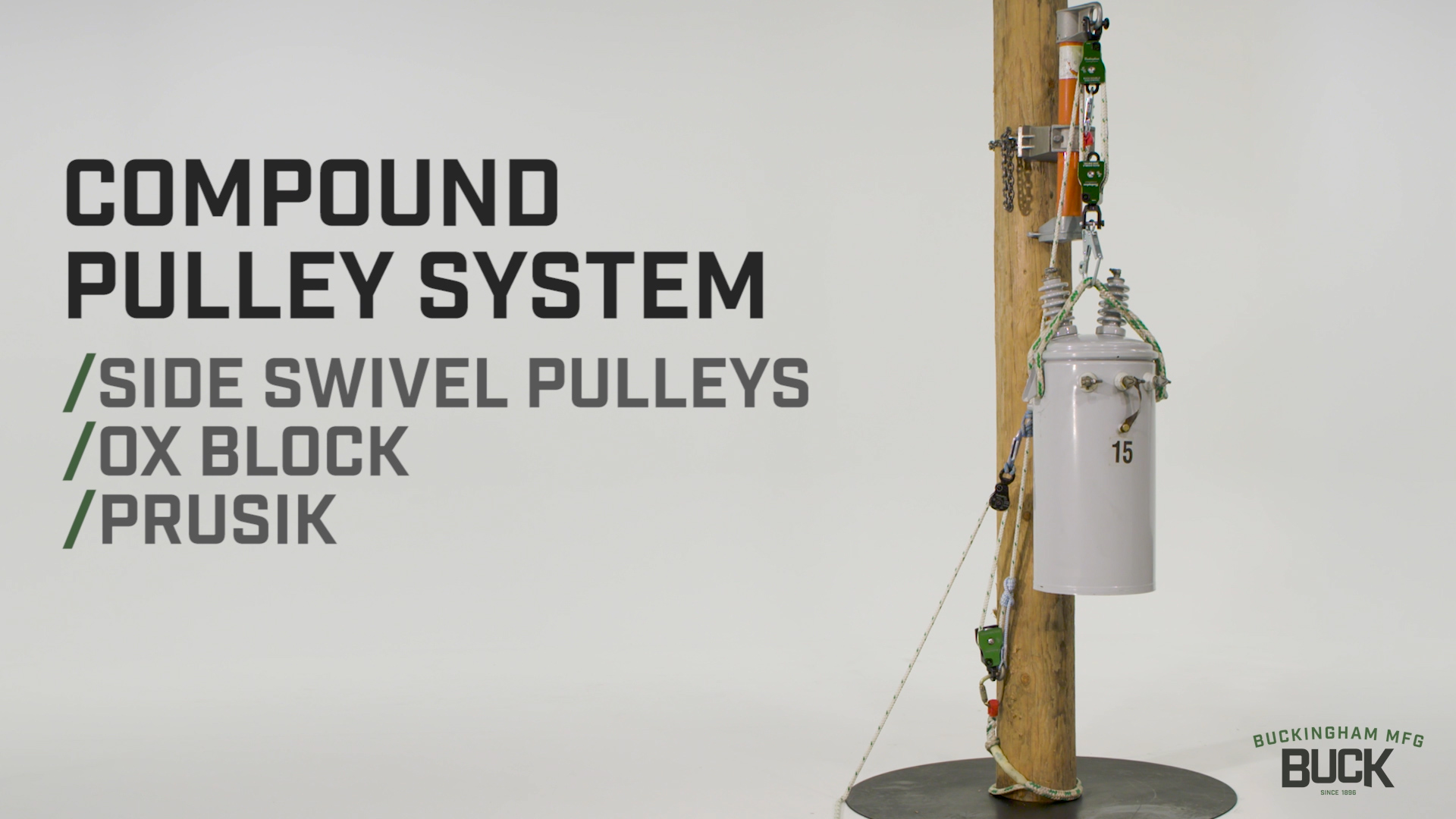 Compound Pulley System