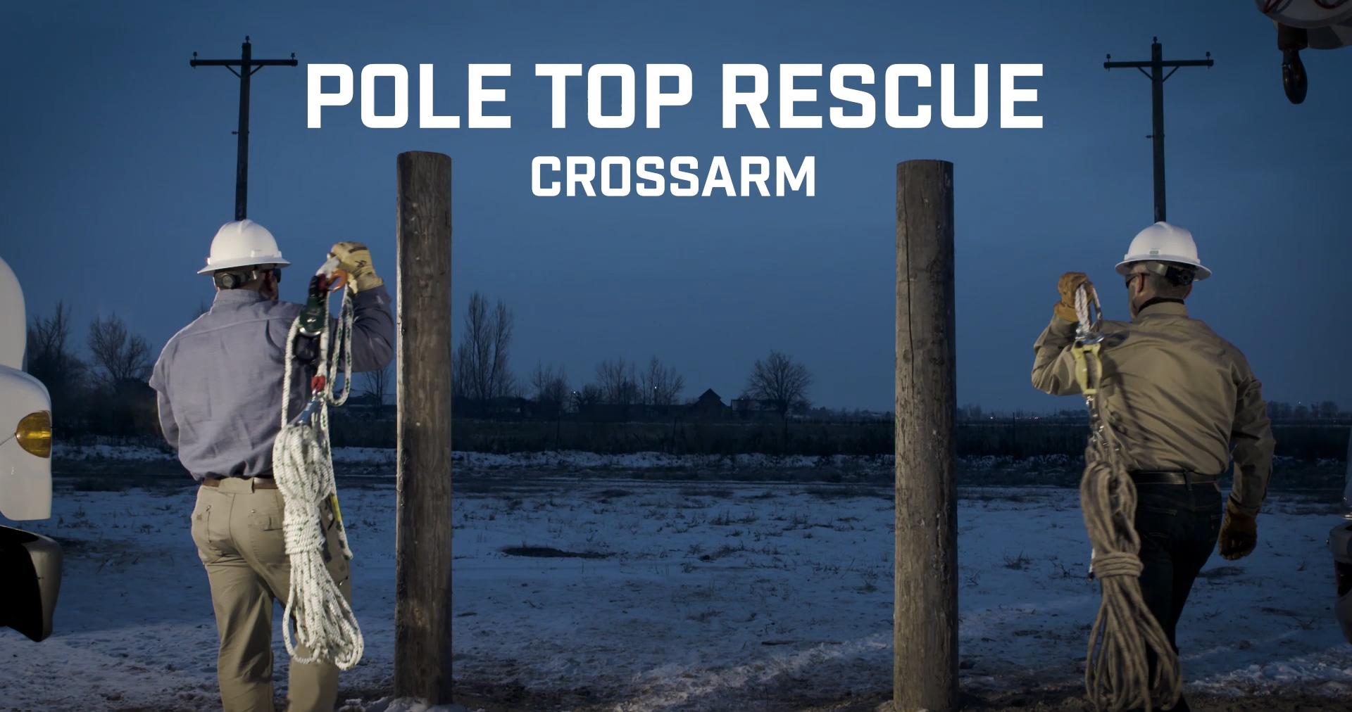Pole Top Rescue - Crossarm