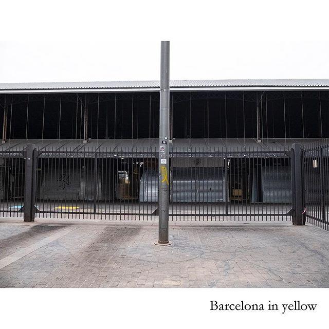 "Serie ""Barcelona in yellow"" #fotoperiodismo #fotodocumental #barcelona #presos #curso #exposición #serie #ccpatillimona #amarillo #libertad #calles #ciudad #reivindicacion #simbología"