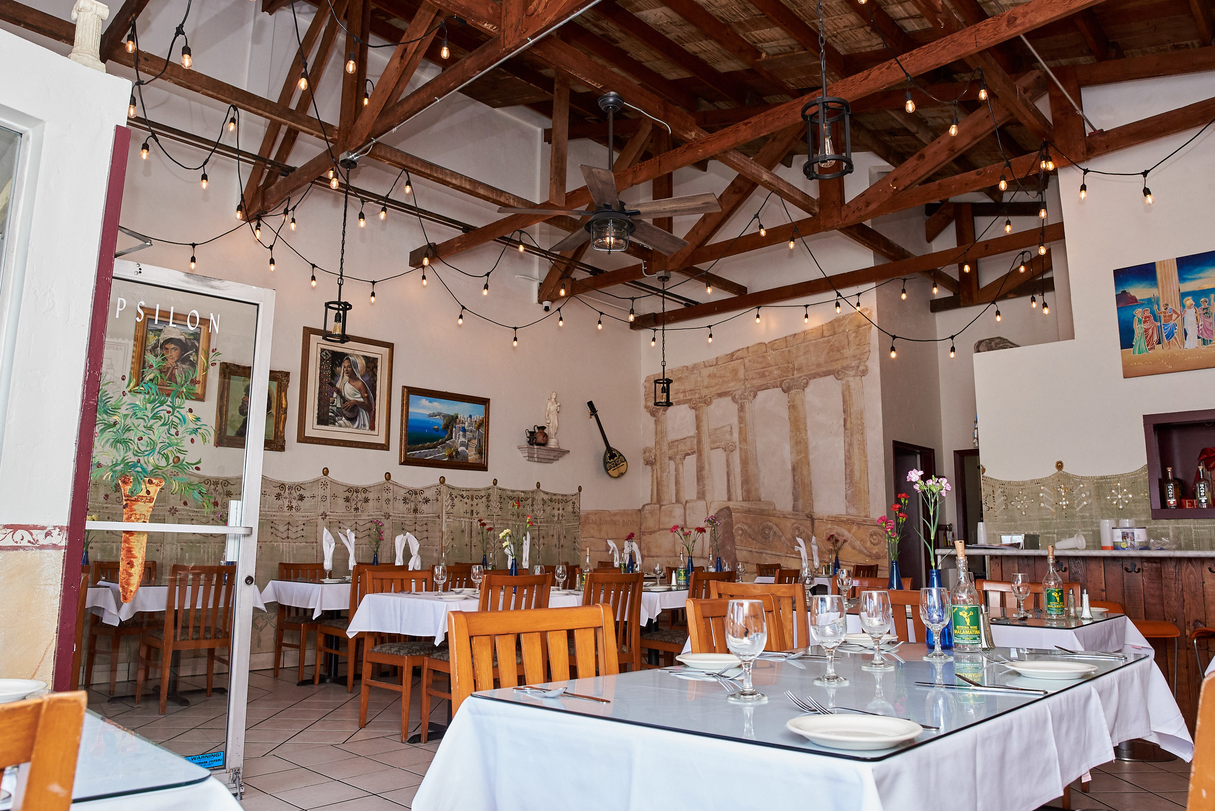 Photo courtesy of Epsilon Fine Greek Restaurant.