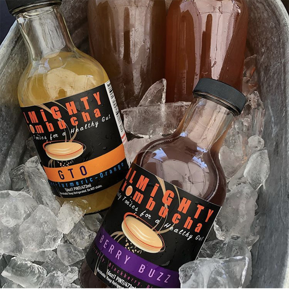 Almighty Kombucha - One of our Farmer's Market favorites, Almighty Kombucha also has a couple of flavors on tap at Alta Bakery. On our tours, we offer it as an option for a non-alcoholic substitute. And hey, if it's good enough for Zoe Kravitz in Big Little Lies, it's good enough for us.