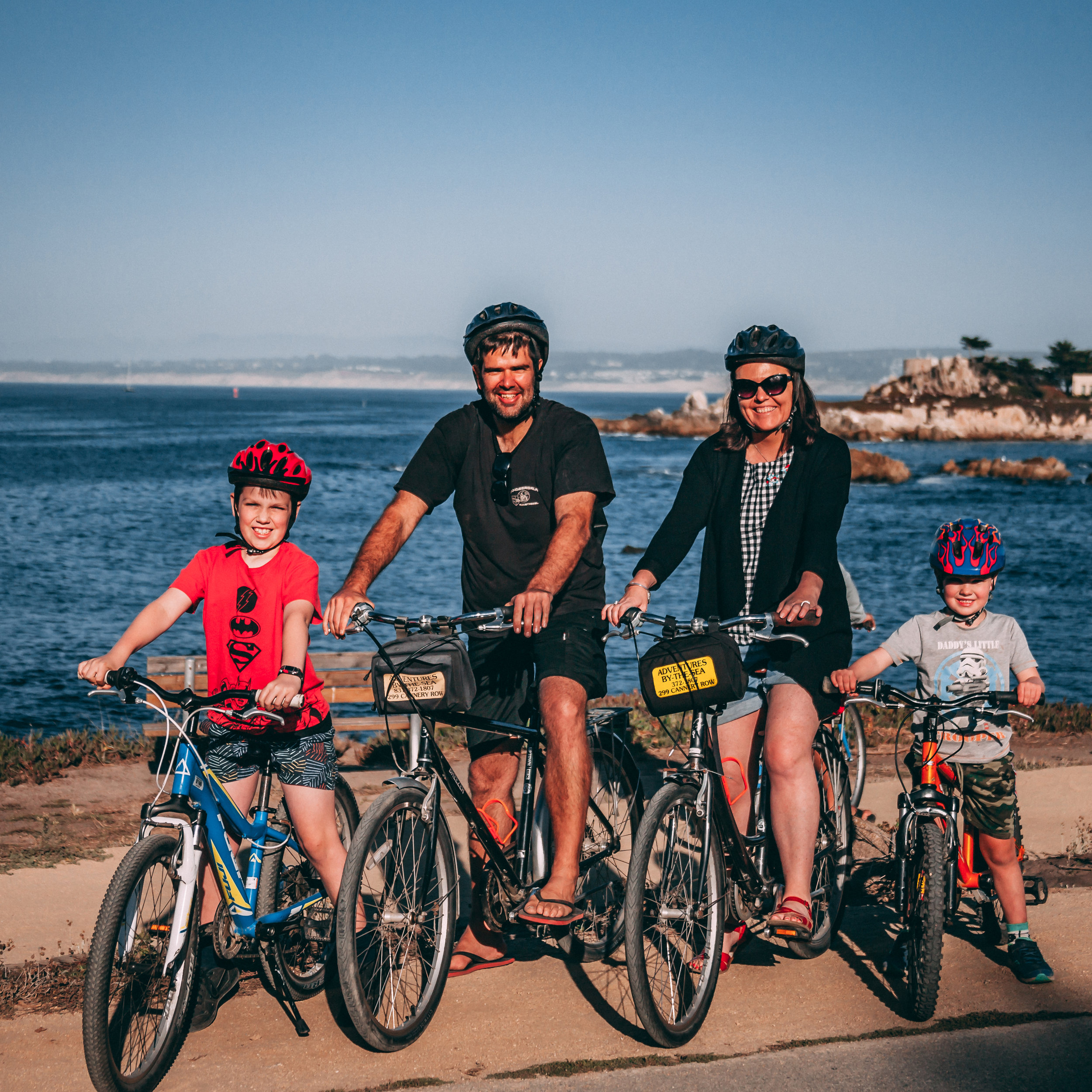 Adventures by the Sea - Whether you're interested in kayaking out in the bay or taking an e-bike around the peninsula, Adventures by the Sea has you covered! Let us show you some of the best sights in the area while tasting some of the finest food around.