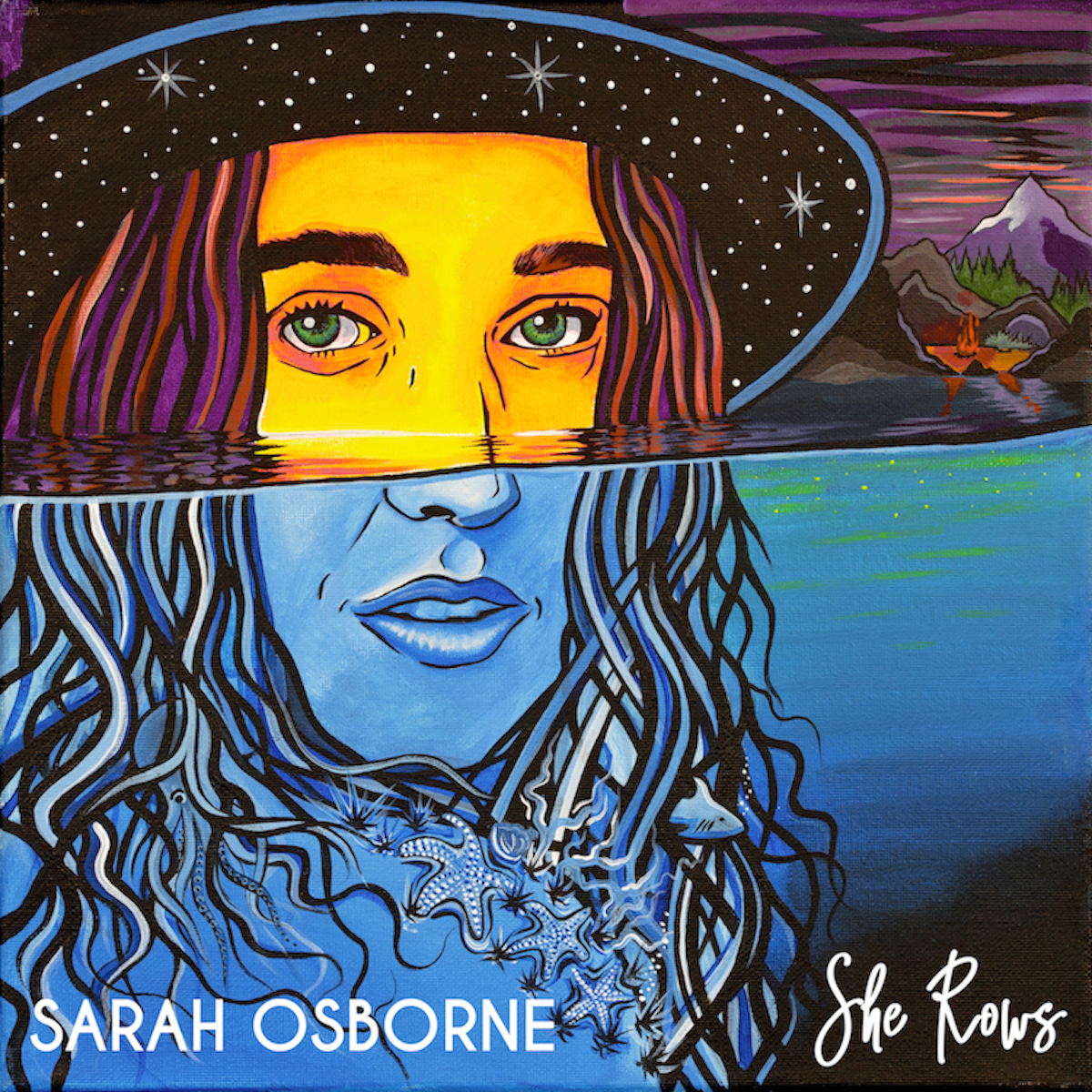 'She Rows' EP - Produced and engineered by Neil Osborne, 'She Rows' is a six song EP that takes Sarah Osborne's original songs on a timeless jazz inspired journey.