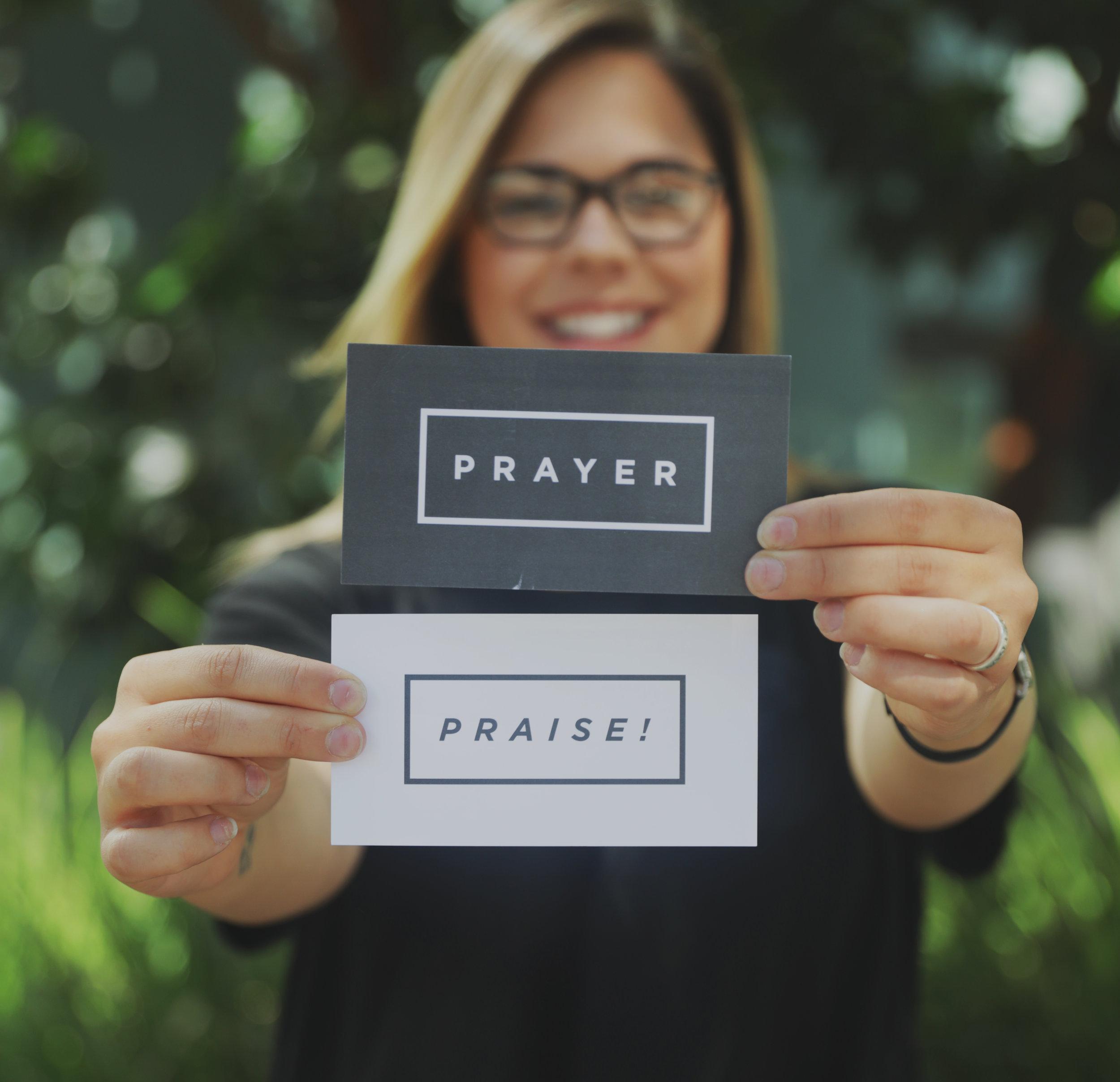 Prayer+PRaise -
