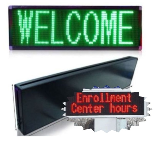 LED Signs / Single Color