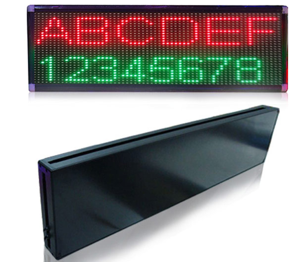 LED Tri-Color Programmable Signs