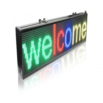 Techtronics LED Tri-Color Programmable LED Signs