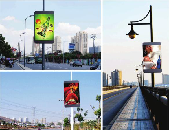 Street Pole LED Signs