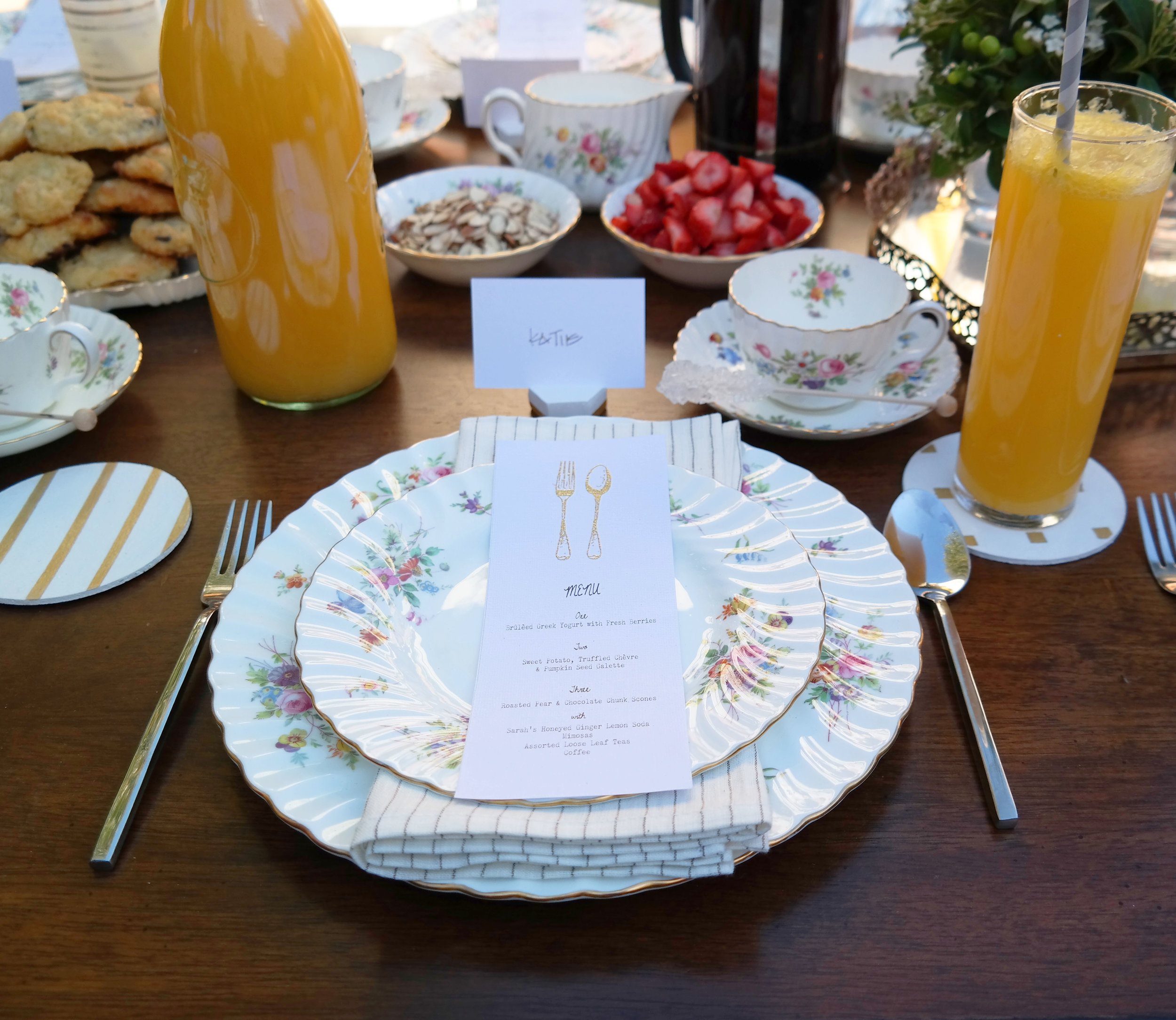 Bloggers who Brunch | lovely letters