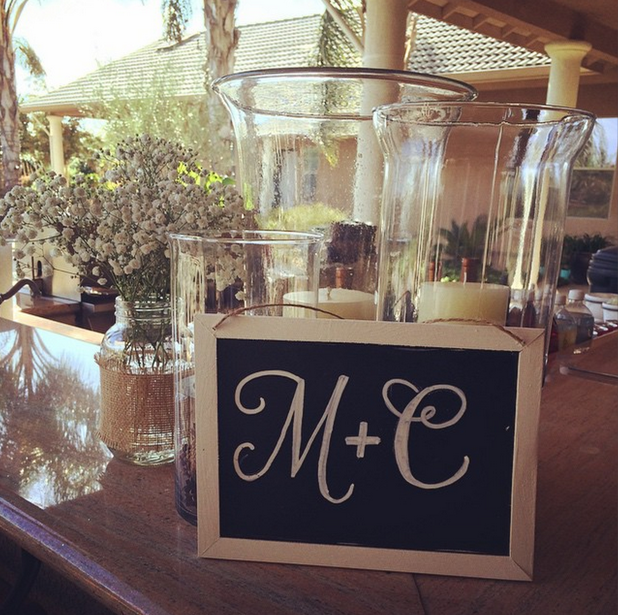 M & C | lovely letters
