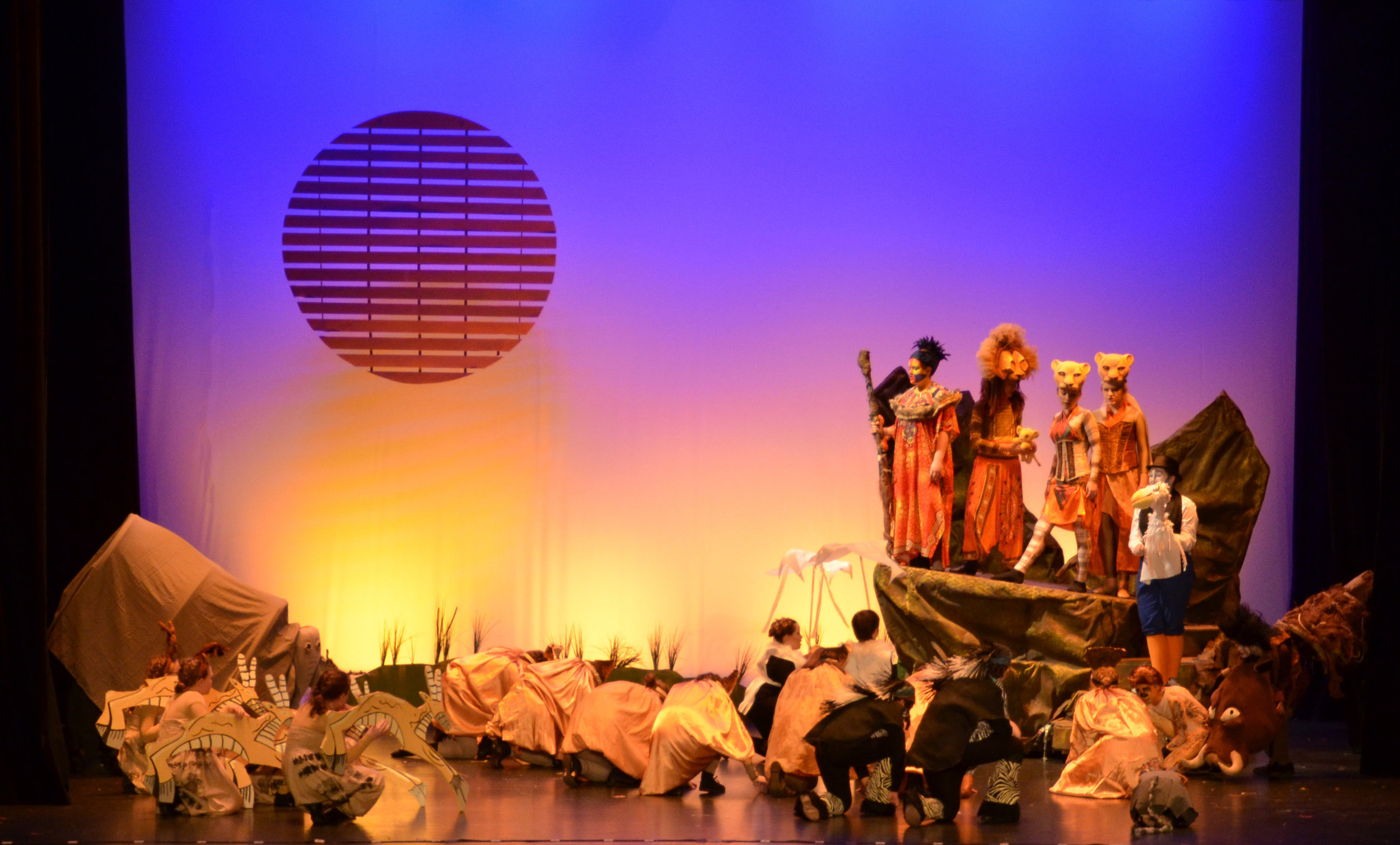 Lion King Jr. - Morgantown Theatre CompanyLighting Designer