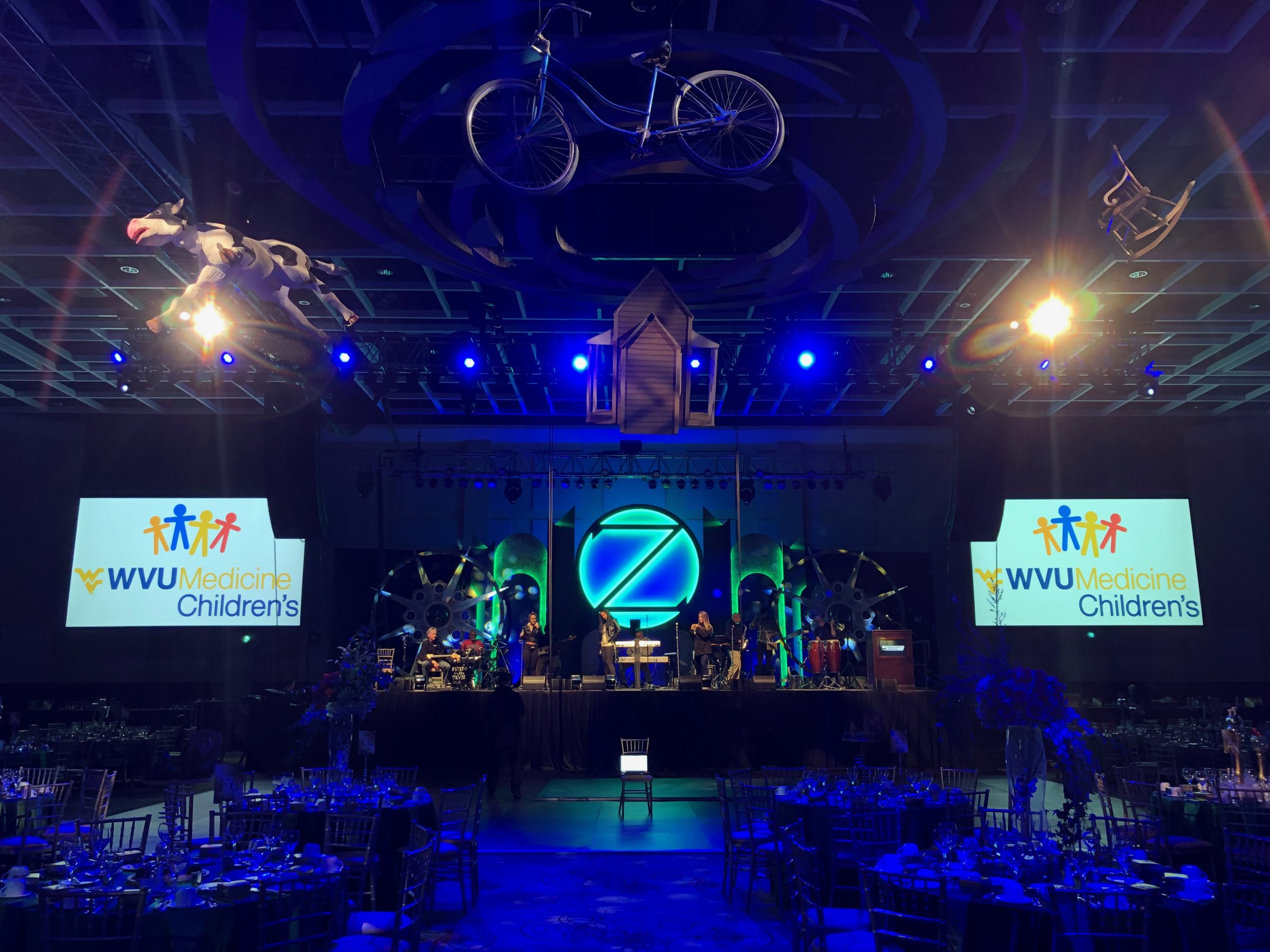 WVU Medicine Children's Gala 2019 - Compass ProductionsAssistant Lighting Designer
