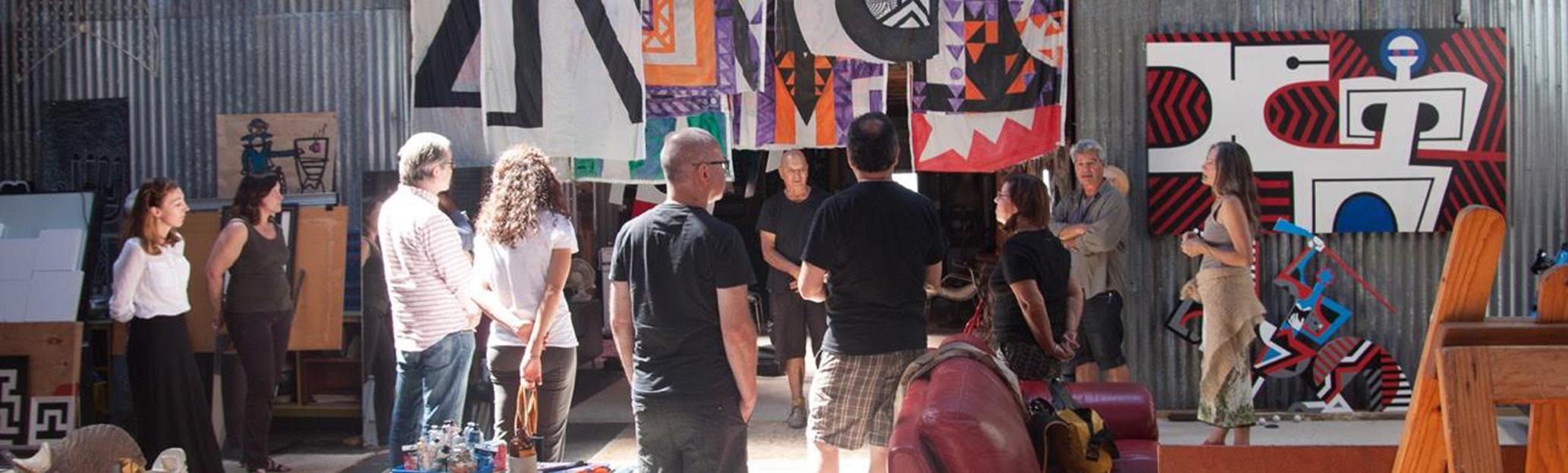ABOVE: Para Matchitt, Studio Visit, I Te Timatanga 2016 2