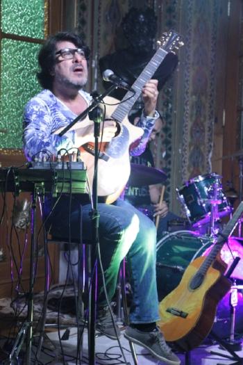Sérgio Rojas se apresentou em setembro na Biblioteca