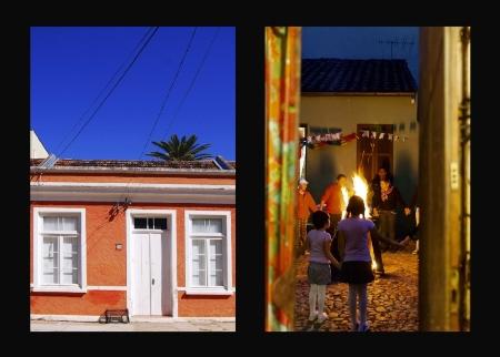 A Rua Suspensa  mostra a arquitetura e o cotidiano da Travessa dos Venezianos